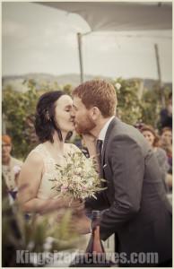 Natürliches Hochzeitsfoto Steiermark