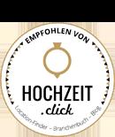 Hochzeit.click-Badge